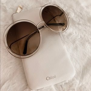 Chloe CE114S Sunglasses Rose Gold